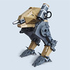 Tiinusu X tres - Recon Class (Fredoichi) Tags: robot lego space military walker micro mecha mak mech microscale fredoichi