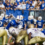 """<b>HomecomingFootball2013_AL_18</b><br/> Homecoming 2013 footbal game against Loras College. This was the 100th season of football for Luther College.  Septmeber 5th 2013. Photo by Aaron Lurth<a href=""""http://farm8.static.flickr.com/7295/10140512863_5b081eb6cc_o.jpg"""" title=""""High res"""">∝</a>"""