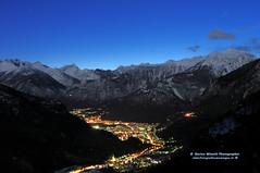 Notturno sulla Valchiavenna (Enrico_Minotti) Tags: notturno valchiavenna valbregaglia savogno minottienrico