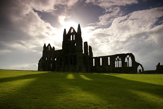 Whitby Abbey shadows - explored at #18