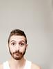 (Damien Cox) Tags: uk portrait selfportrait man male me self ego myself beard nikon masculine moi vest scruff stubble sillyface i damiencox dcoxphotographycom