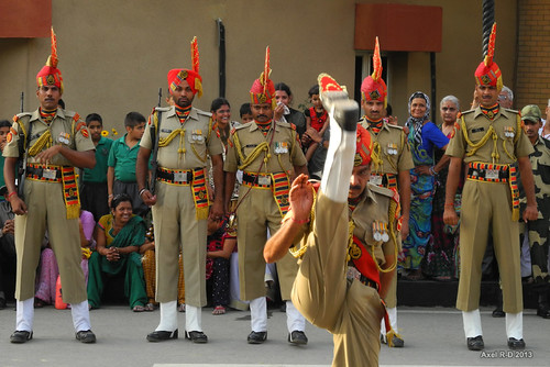 Atari-Wagah Border Closing ceremony