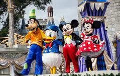 Four Friends!! (BGDL) Tags: goofy four orlando florida disney mickey donald 28 minnie magickingdom weeklytheme nikkor18105mm13556g nikond7000 lightroom4 bgdl flickrlounge