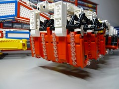 LEGO Intoxx ride WIP (RS 1990) Tags: carnival scale project amusement ride lego pneumatic fairground large wip piston technic modified motor moc discobol brickshelf powerfunctions intoxx