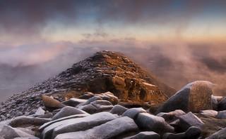 The Awakening - Dawn breaks on Moel Siabod's North East Ridge