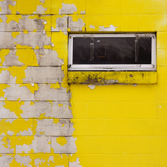 (jtr27) Tags: abstract window yellow wall square sony maine sigma 60mm alpha cinderblock f28 ilc dn nex mirrorless kezarfalls emount nex7 jtr27 dsc00193c