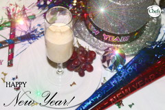 Happy New Year! (Chefs_Diet) Tags: food holiday dessert champagne gourmet foodies foodporn snack delivery newyears diet weightloss weight mousse foodie nutrition dieting foodphotography diets foodstyling nomnom chefsdiet containertoplate