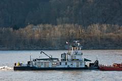 JINCY (Joe Schneid) Tags: kentucky transportation louisville towboat inlandwaterway inlandwaterways jincy americanwaterways crounse ohiorivermile619