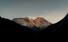 Lhotse 8516m (bartek dumbal) Tags: nepal himalaya khumbu lhotse