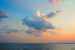 A cloud from my dream (ElenaK@Chicago) Tags: sunset summer nature clouds lakemichigan nikond700 nikon28300mm