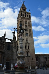 The Giralda, originally 12th century Almohad minaret (9) (Prof. Mortel) Tags: spain minaret seville andalucia giralda almohad