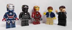 Stark Industries Secrets: STOLEN! (enigmabadger) Tags: lego fig minifig minifigs figs minifigure minifigures vision:outdoor=0844