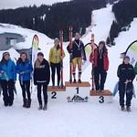 U16 Provincials Day 1 Ladies SG top 10 PHOTO CREDIT: Gordie Bowles