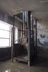 lift (twimpix) Tags: abandoned industry buildings industrial urbanexploration urbex explores