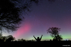 Me & the Aurora 27 02 14 (twinklespinalot) Tags: aurora astronomy essex 1022mm spaceweather astrophotos felsted canoneos700d aurorawatch