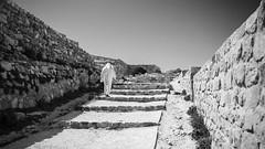 alone.. (M@ssiP ) Tags: street light canon temple alone 6d 24105 giordania