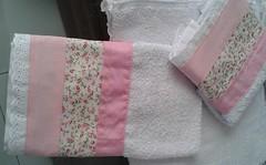 toalha3 (Patchwork Glria Leon) Tags: de banho toalhas