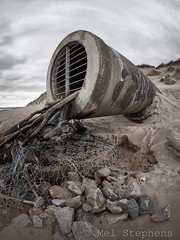 Pipe (D3151986 E-M1 8.0mm iso200 f8.0 1_8s) (Mel Stephens) Tags: uk beach coast march scotland spring pipe olympus structure best fisheye coastal aberdeen sewage 35 8mm zuiko 43 omd 2014 em1 q1 f35 m43 fourthirds 201403 mirrorless mmf3 microfourthirds 20140315