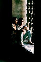 Angkor Wat ( / LINUS) Tags: boy film children nikon cambodia f100 angkorwat siemreap angkor