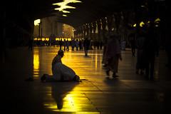 Sujud / Prostration (2) (Prayudi Hartono) Tags: prayer mosque saudiarabia masjid madinah namaz shalat nabawi