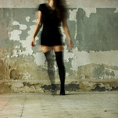 *** (Victoria Yarlikova) Tags: urbex girl stockings abbandoned self square abstract ghostly movement decay blur lonely surreal experimental alone weird