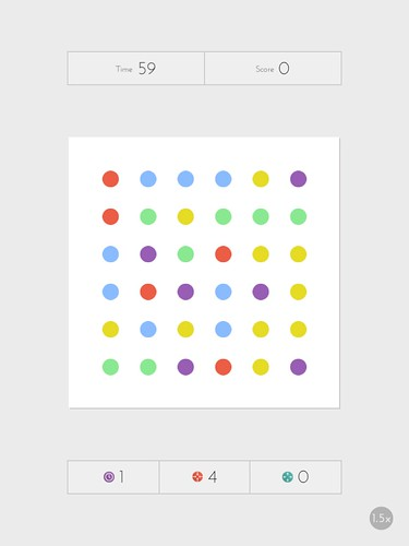 Dots: A Game About Connecting Heads-Up Display: screenshots, UI