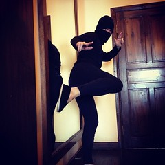 Move to #China, become a #ninja. Life goal complete.