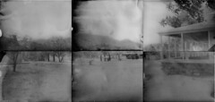 Brown Canyon Ranch on WWPD 2014 (Crunchy Footsteps) Tags: county arizona coffee paper day pinhole negative worldwide cochise caffenol wwpd