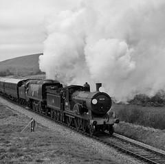 SwR 28084bwcr (kgvuk) Tags: trains locomotive corfe railways 440 steamtrain corfecastle steamlocomotive manston t9 462 battleofbritainclass swanagerailway 30120 34070 lswrgreyhound