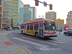 septa8552 (ExactoCreation) Tags: new bus flyer transit septa hybrid de41lfr