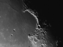 Sinus Iridium + Jura mountains. (Dave Lillis) Tags: irishastronomy shannonsideac