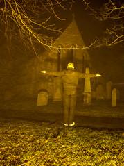 St Andrew's Church, Corbridge, Northumberland (mandyhedley) Tags: mist church pub levitation northumberland churchyard northeast gravestones corbridge standrewschurch smallvillage