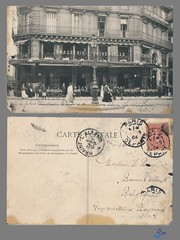 PARIS - Grande Brasserie Universelle - Restaurant Joudon (bDom [+ 3 Mio views - + 40K images/photos]) Tags: paris 1900 oldpostcard cartepostale bdom