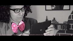 P I N K (dr.7sn Photography) Tags: pink fashion hair blackberry afro fuchsia tie style knot suit jacket bow ribbon rayban galsses بلا playbook نظارة ستايل وردية بوك بلاك رسمية بدلة جاكيت كدش بيري فيونكة ريبان فوشية بيبيون