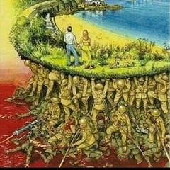 الجنود يضحون بانفسهم كي يعيش الوطن بامان
