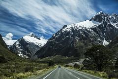 follow the mountains (i.v.a.n.k.a) Tags: new mountains landscape island south zealand ivana hesova