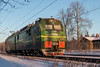 IMG_6096 (dm35ru) Tags: railroad train russia railway locomotive electrictrain leningradregion rzd russianrailways 2es4k