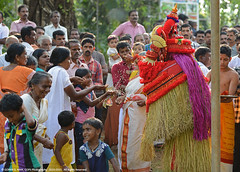 BLESSINGS FROM THE DEMIGOD (GOPAN G. NAIR [ GOPS Photography ]) Tags: india religious photography north culture kerala ritual hindu hinduism malabar gops theyyam demigod gopan godman gopsorg gopangnair gopsphotography