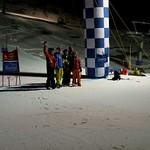 Kimberley Alpine Team PD Jon Blair with winners of KAT night slalom