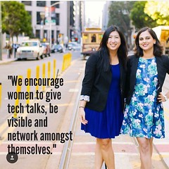 Sukrutha and I were profiled in @GadgetGoals today! (thisgirlangie) Tags: were today sukrutha i profiled gadgetgoals
