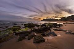 Turrimetta Sunset (muvro) Tags: colour canon rocks sydney beaches northernbeaches turrimetta