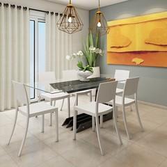 Mesa de Jantar Corcovado (domcio ferreira) Tags: art arquitetura cores design 3d arte interiores decorao quadros projetos telas maquetes