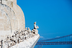 Off we go ... (Ania Mendrek) Tags: ocean streets travelling art portugal water architecture river travels holidays colours lisboa lisbon streetphotography atlantic visiting monuments tagus
