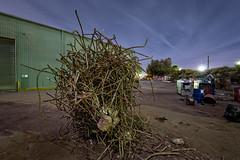 Messy Rebar Squiggle (Andrew_Dempster) Tags: longexposure nightphotography industry night industrial nightscape nightshot australia sa southaustralia rebar scrapmetal ottoway messyrebarsquiggle