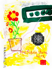 the future starts here (_Loaf_) Tags: china possum abstract france flower art japan modern pencil ink painting quito ecuador punk acrylic folkart arte drawing folk mixedmedia contemporaryart contemporary pastel kunst south chinese modernism mandala canson oil expressionism impressionism colored loaf hedonism figurative favoritism artasfood stuffedanimalbrigade