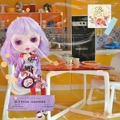 Be You (spunsugarsalon) Tags: collage scrapbooking toy doll bright handmade barbie overlay blythe rement dollhouse sindy dollphotography dollfashion picmonkey easthamkitchen