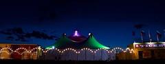 The circus show (Simon Woodward Photography) Tags: show uk sky skyline night lights nikon colours outdoor circus tent nightime