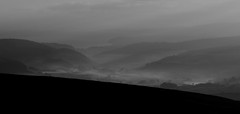 Dunkery Hill Panorama (EmPhoto.) Tags: mist sunrise landscape exmoor canonef75300mm dunkeryhill canoneos70d landscpepassion