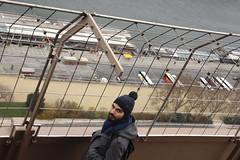 """desde arriba... reto """"a vista de pjaro"""" (maotaola) Tags: paris fence fromabove torreeiffel lookingdown valla avistadepjaro fencedfriday fencesfridays mallaenlasalturas"""