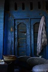 'A Baker's Tale' (Mobeen_Ansari (in Seattle, LA, TX and DC July-Augu) Tags: door blue pakistan bread restaurant basket kohistan kpk dassu